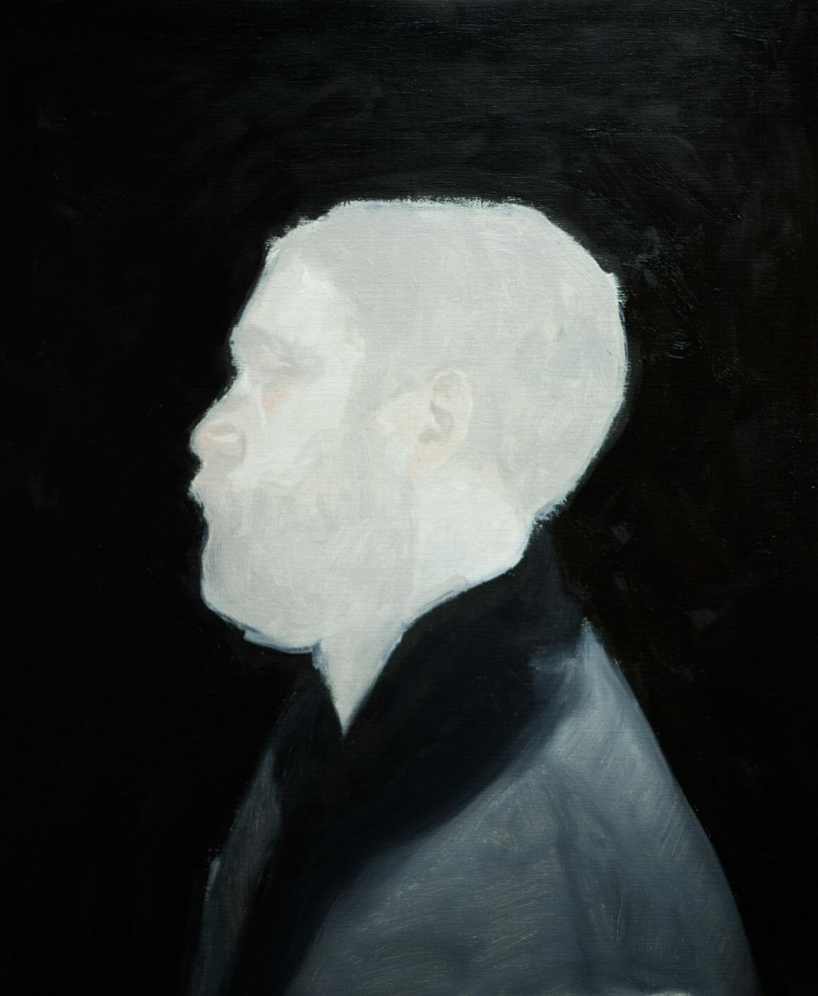 portrait peinture par fini Axel Void