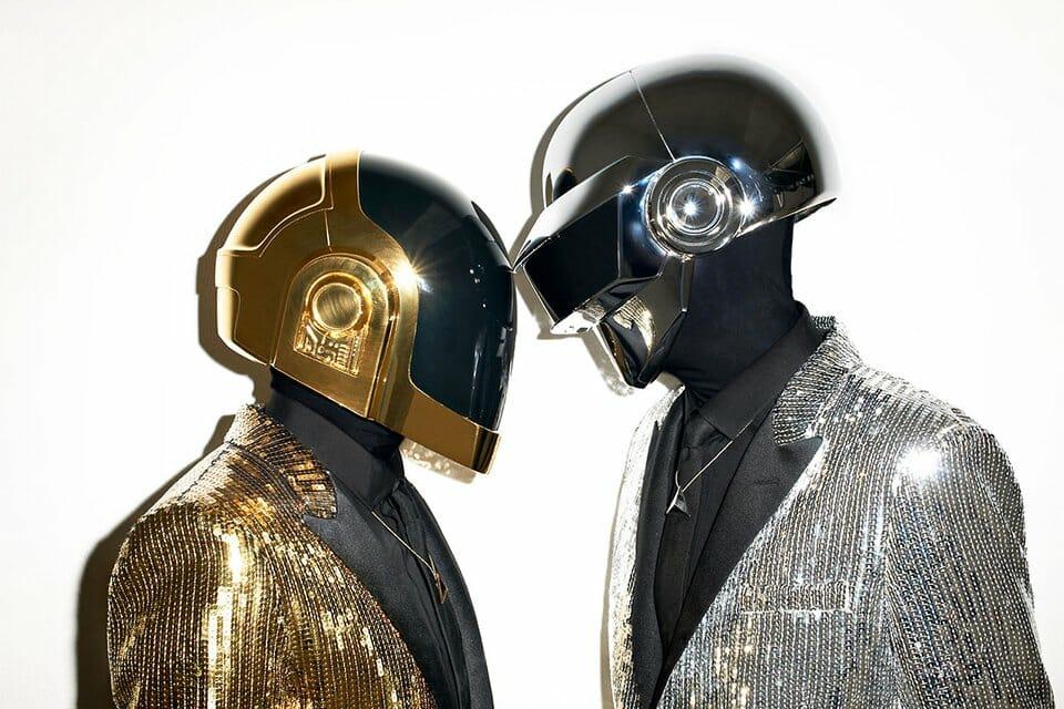 portrait de Daft Punk  par Terry Richardson