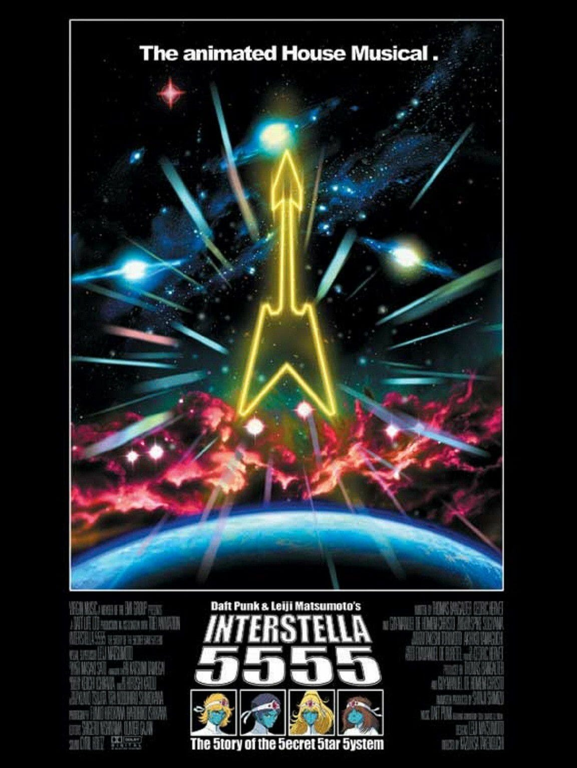 Interstella 5555 : The Story of the Secret Star System