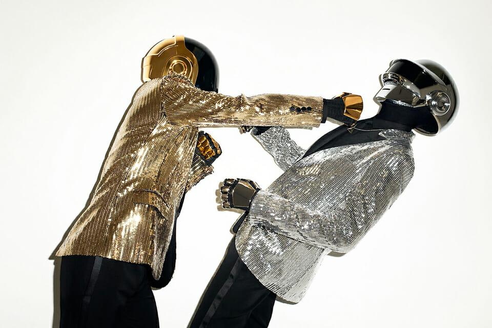 Photographie des Daft Punk par Terry Richardson