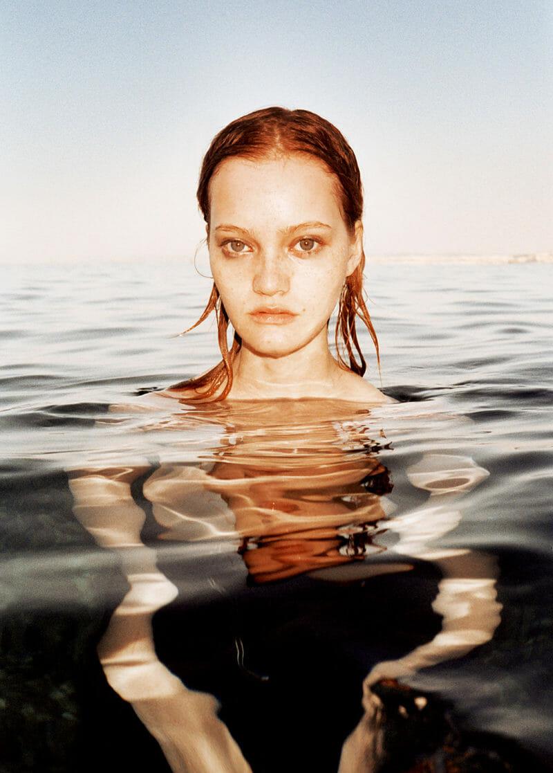 photo mode eau femme mouillée reflet Peter Kaaden