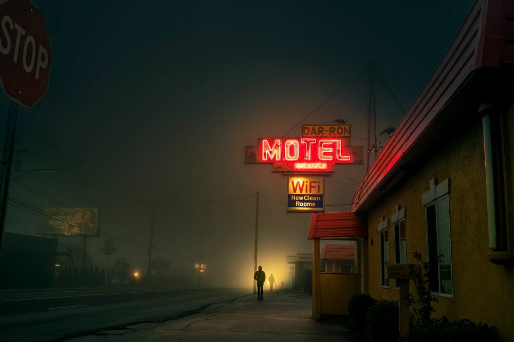 Kevin Fletcher avenue of roses motel lumière rue wifi chambres homme
