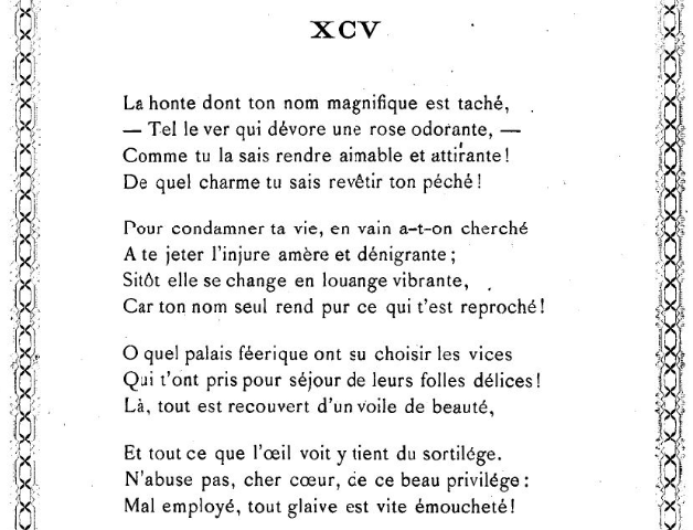 poème 94 shakespeare sonnets rose honte amour haine