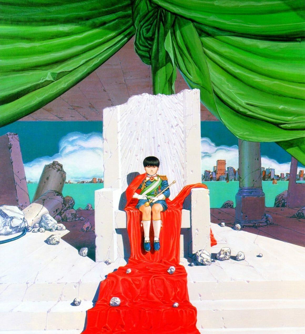 illustration du manga Akira réalisé par le mangaka Katsuhiro Otomo