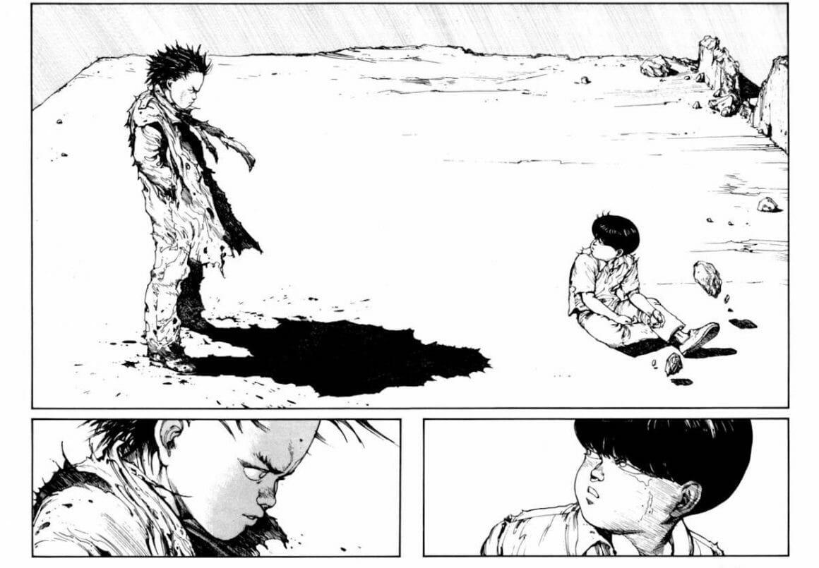 extrait du manga Akira