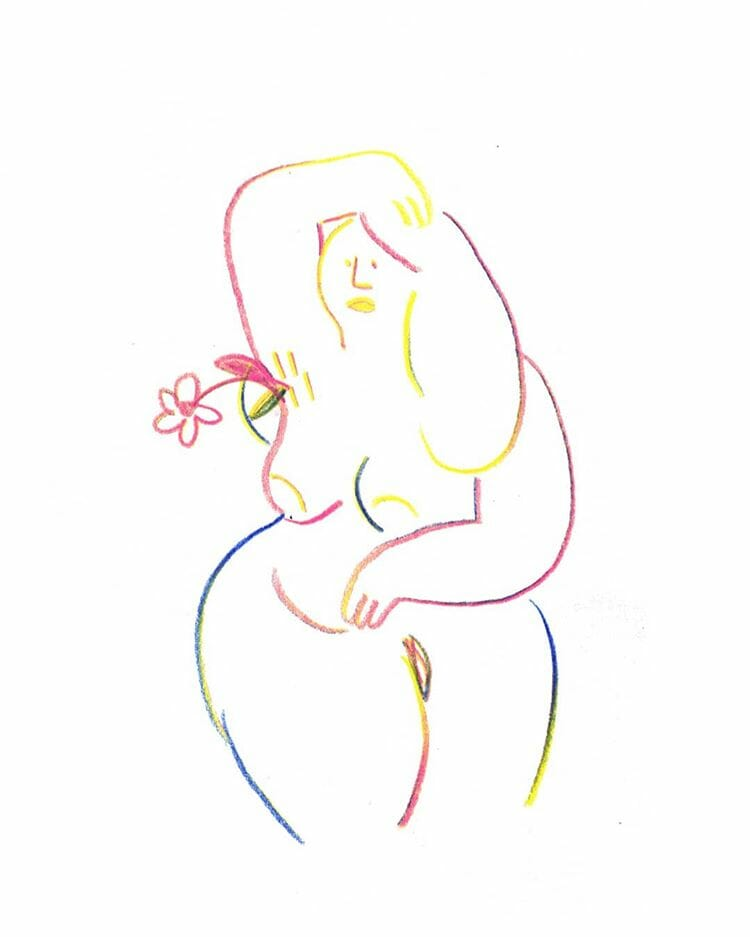 dessin body positivisme
