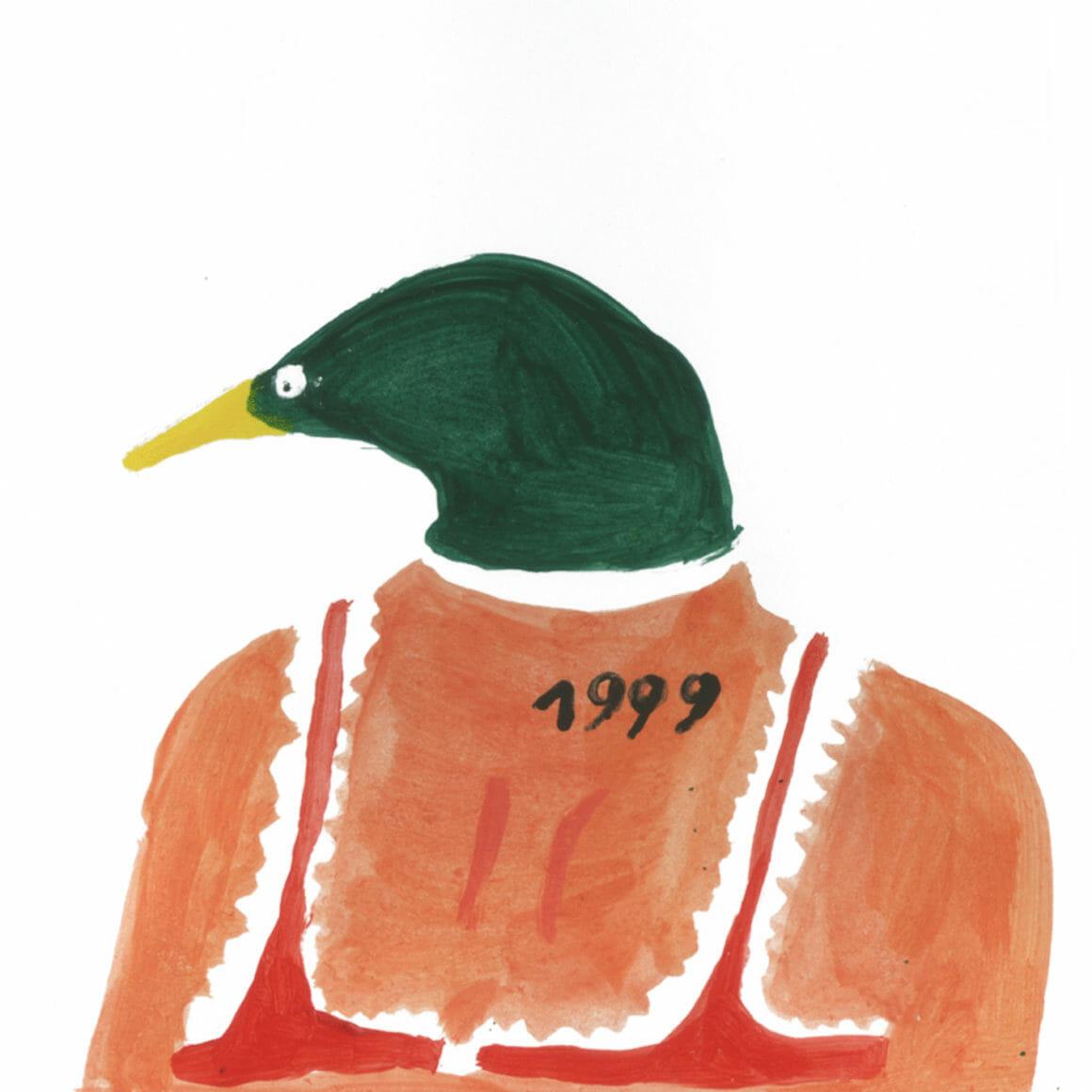 Femme tête de canard