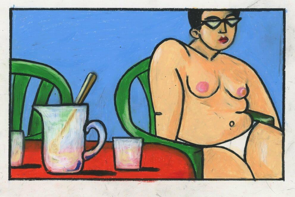 Elodie Lascar illustration