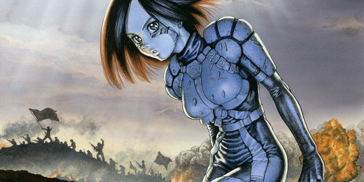 illustration réalisée par Yukito Kishiro, l'auteur de Gunnm.