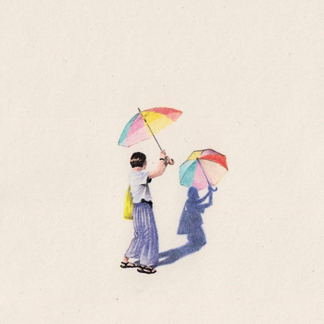 "Le dessin ""A Verse"" de l'illustrateur Alexandre Luu"