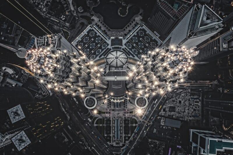 Alien Structure on Earth par Thomasz Kowalski, gagnant de la catégorie Urban