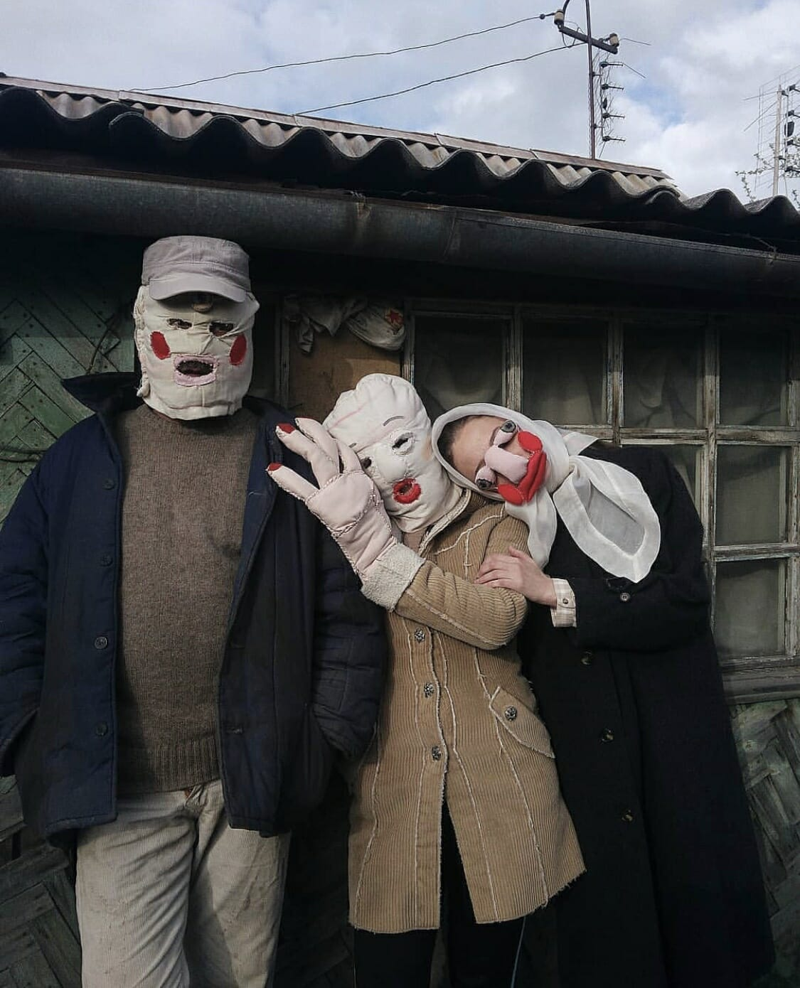 Alisa Gorshenina trois personnages ruraux