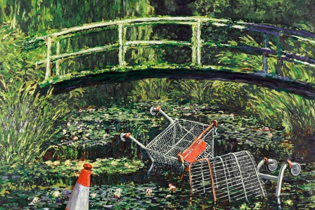 Banksy Show me the Monet