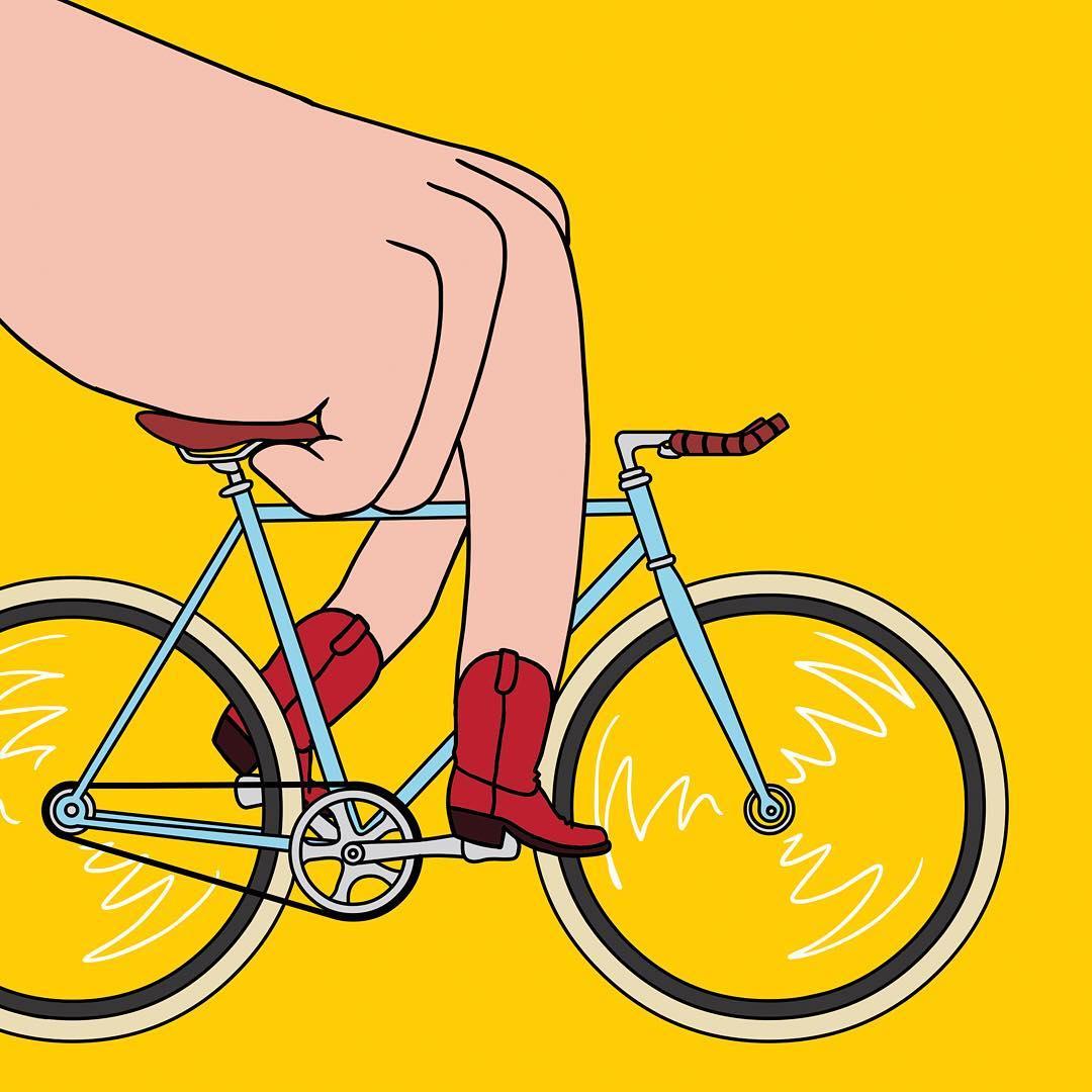 C'est le pied, par l'artiste Jean-Michel Tixier