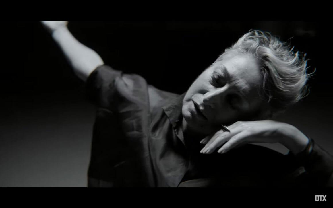 """La danseuse Olga Roriz dans le clip """"Running in the dark"""" de Moullinex"""