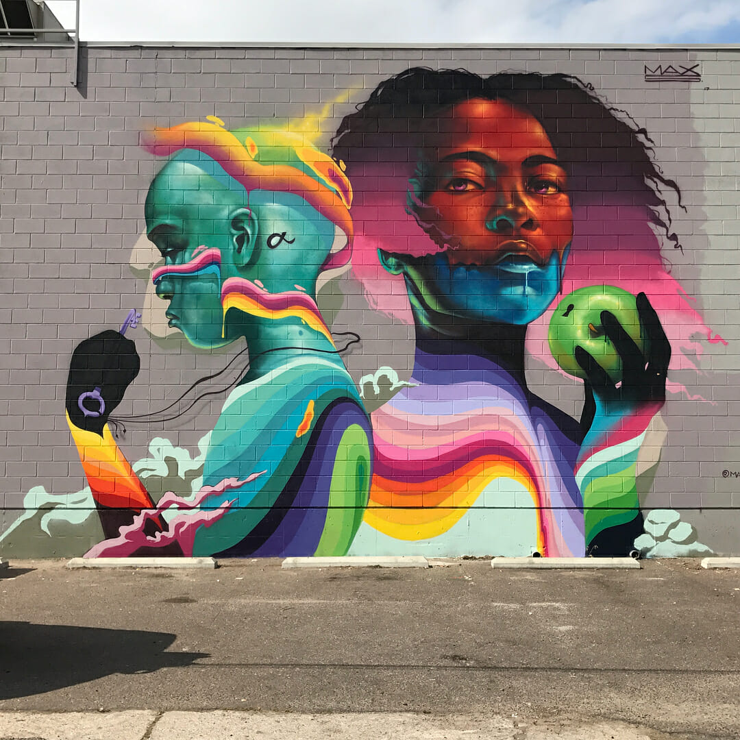 street art par Max Sansing