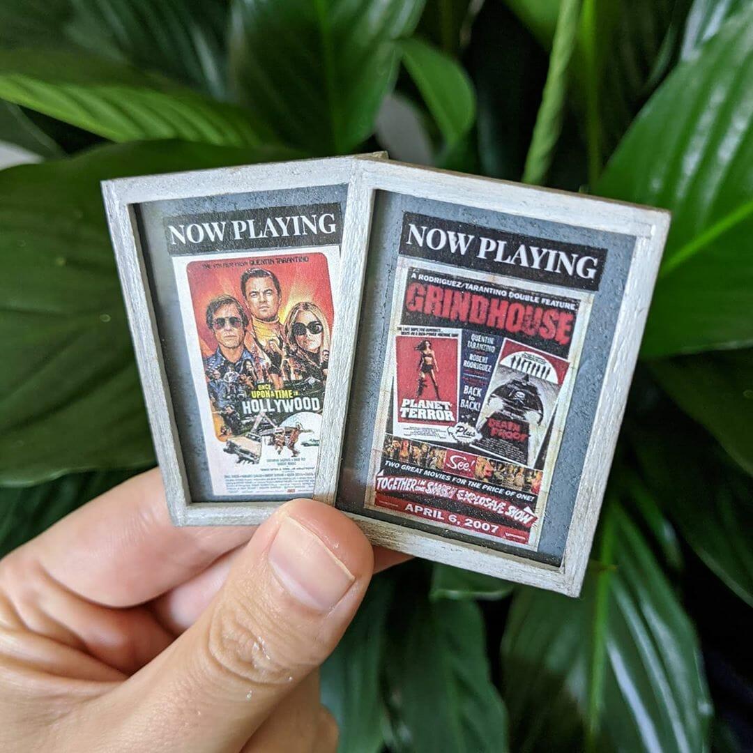 Miniatures d'affiches de film créées par Kieran Wright