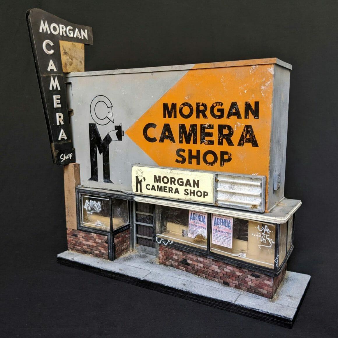 Reproduction miniature du Morgan Camera Shop par Kieran Wright