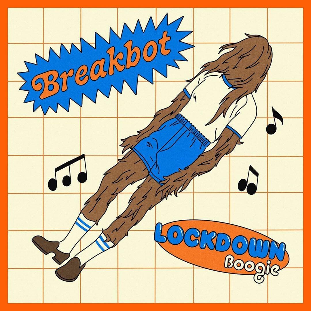 Pochette de Breakbot par l'illustrateur Alexandre Nart