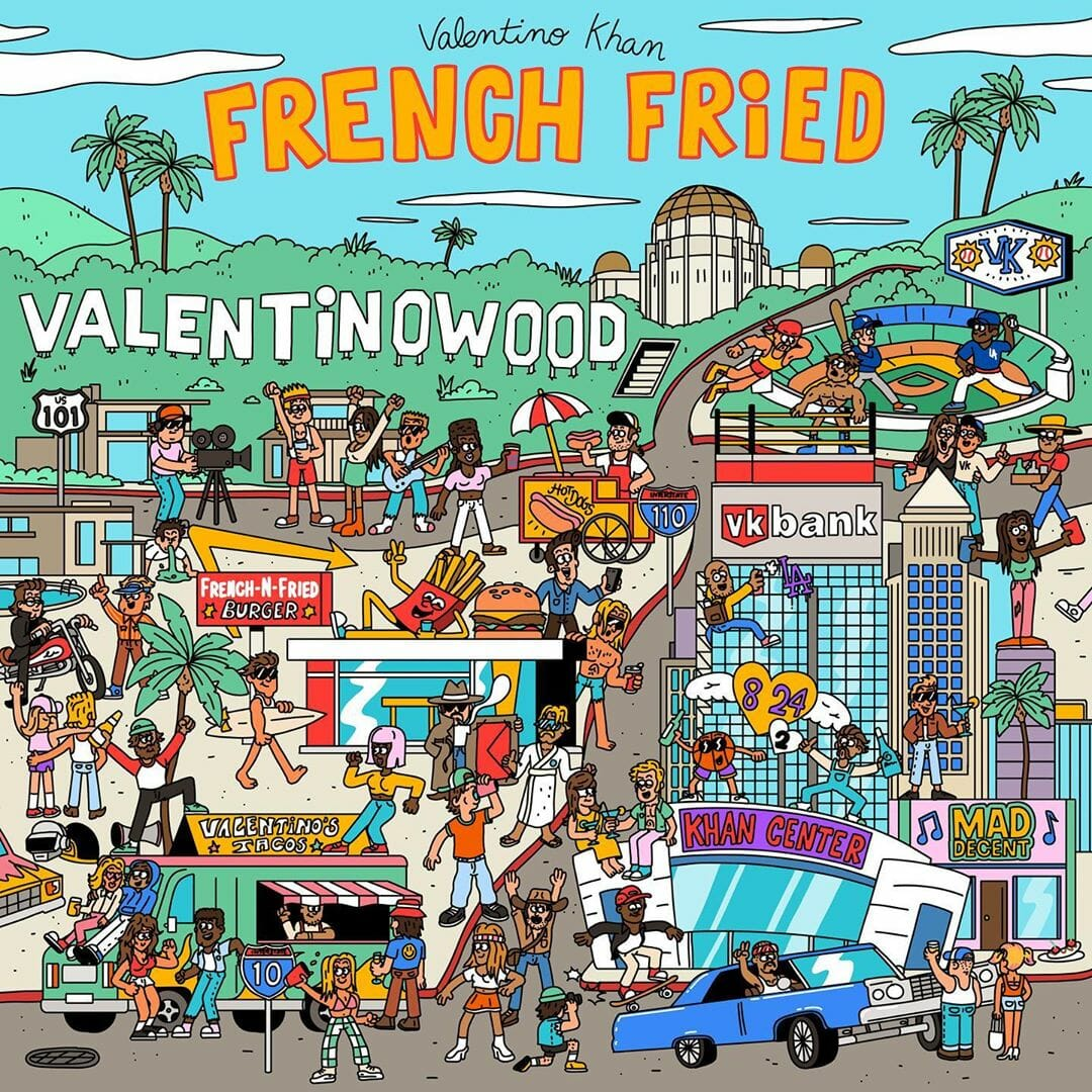 Valentino Khan french fried ep