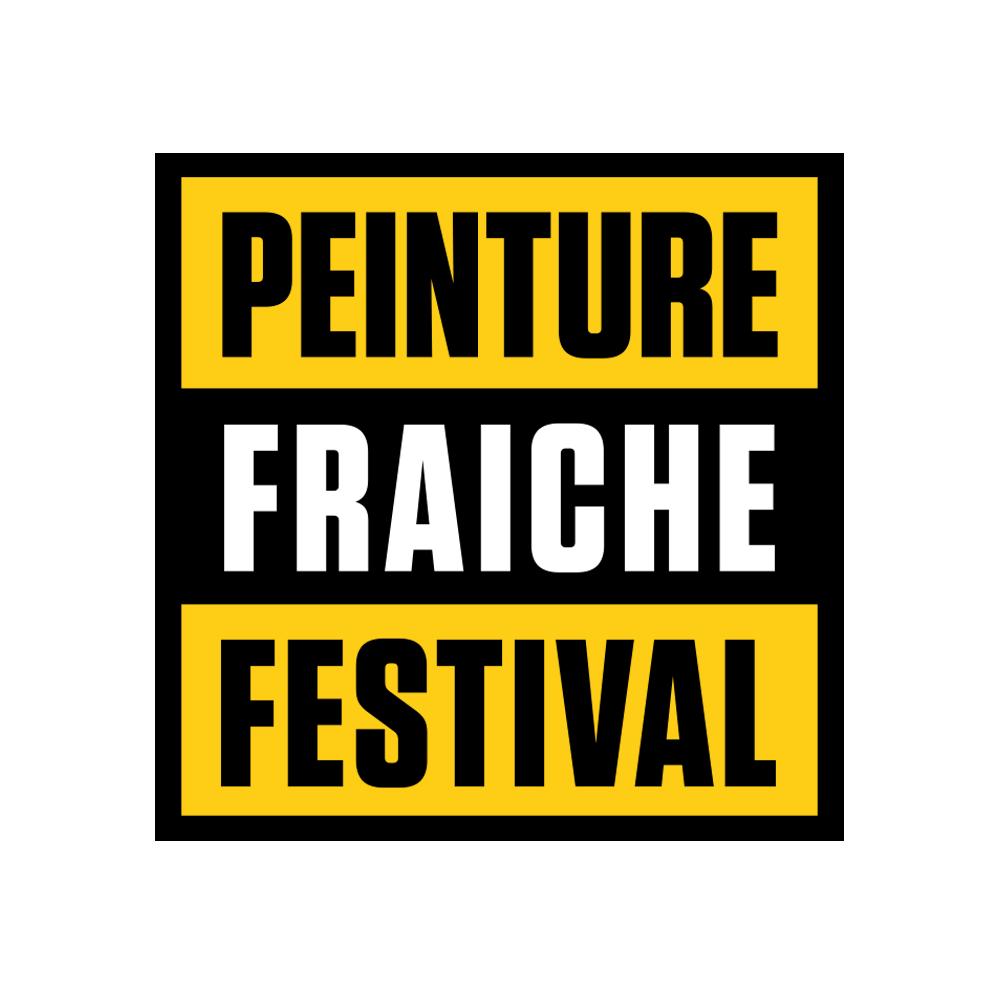 Logo du Peinture Fraîche Festival