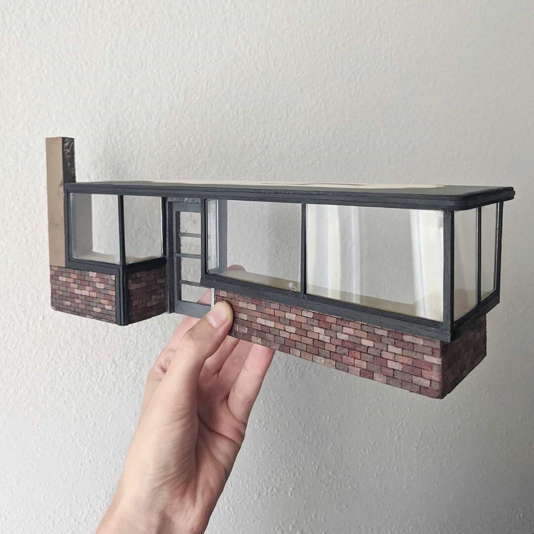 Réduction miniature d'une partie du bâtiment du Morgan Camera Shop par Kieran Wright