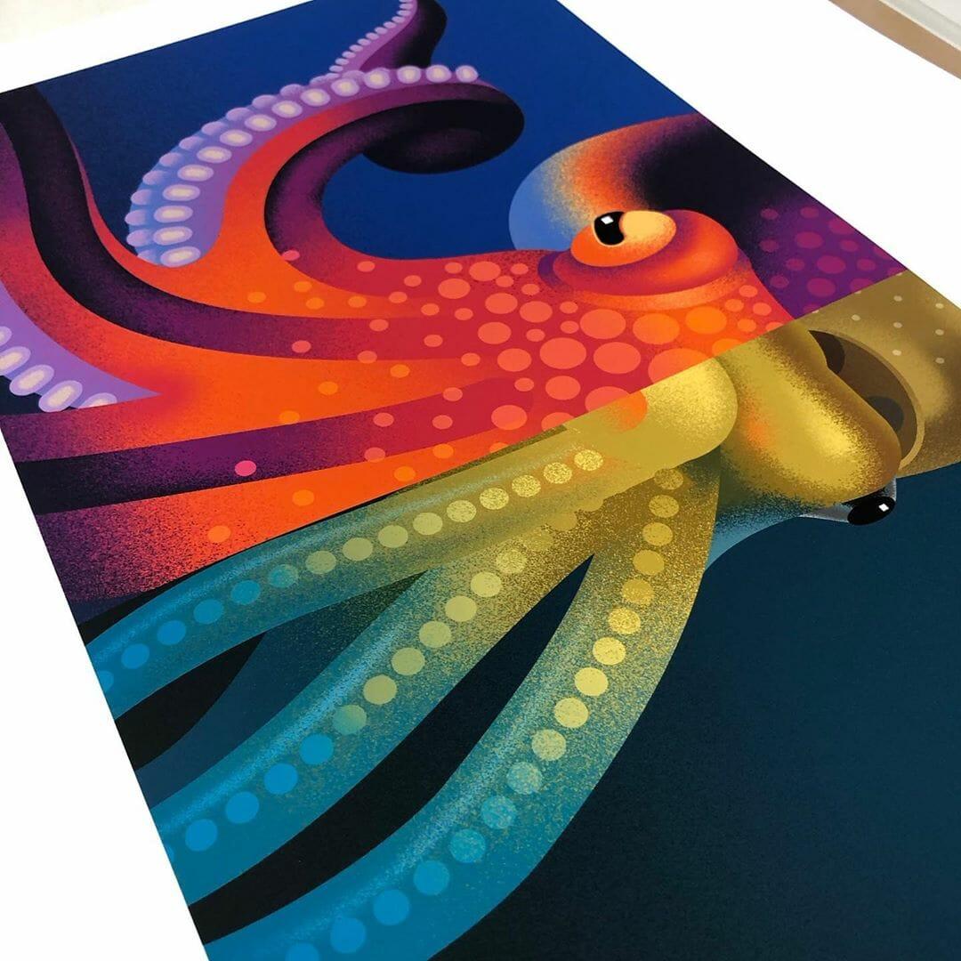 """Illustration issue de la série de livre """"Similar but yet different"""" illustrée par Ana Miminoshvili"""