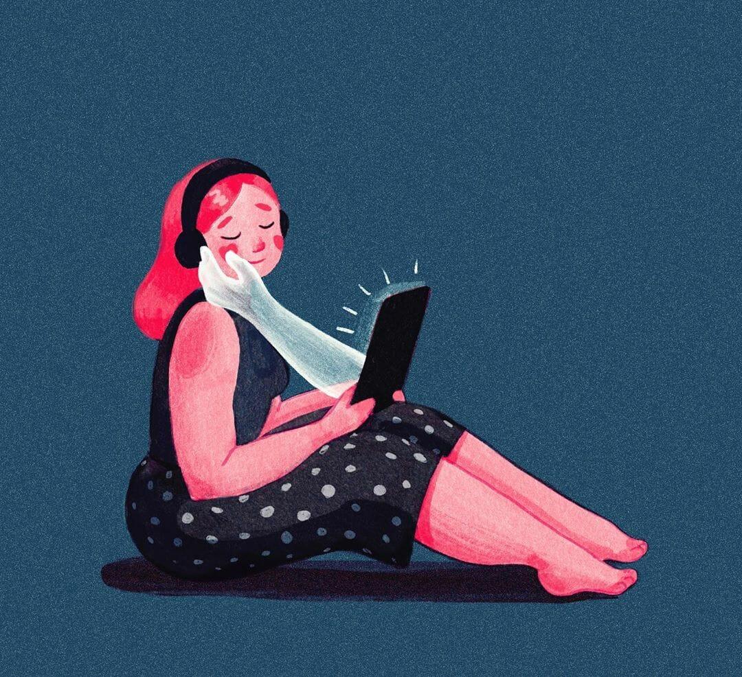 Social distance relationships par Ana Miminoshvili