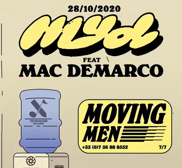 Myd tf Mac DeMarco Moving men ed banger records