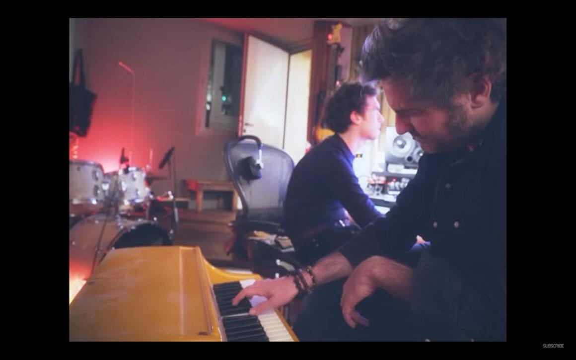 """Capture d'écran du clip """"Lettre Infinie"""" de -M-"""