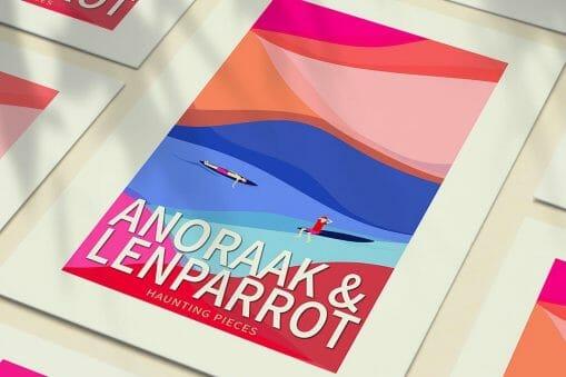 """Anoraak dévoile """"Haunting Pieces"""", son nouveau single en feat avec Lenparrot"""