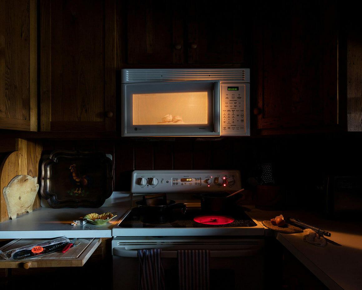 """Night Kitchen"" est une cliché sobre pris par Jennifer Garza Cuen à Rabun"