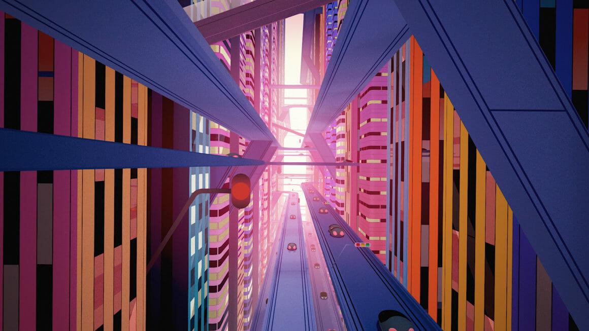 Rone Esperanza architecture ville futuriste