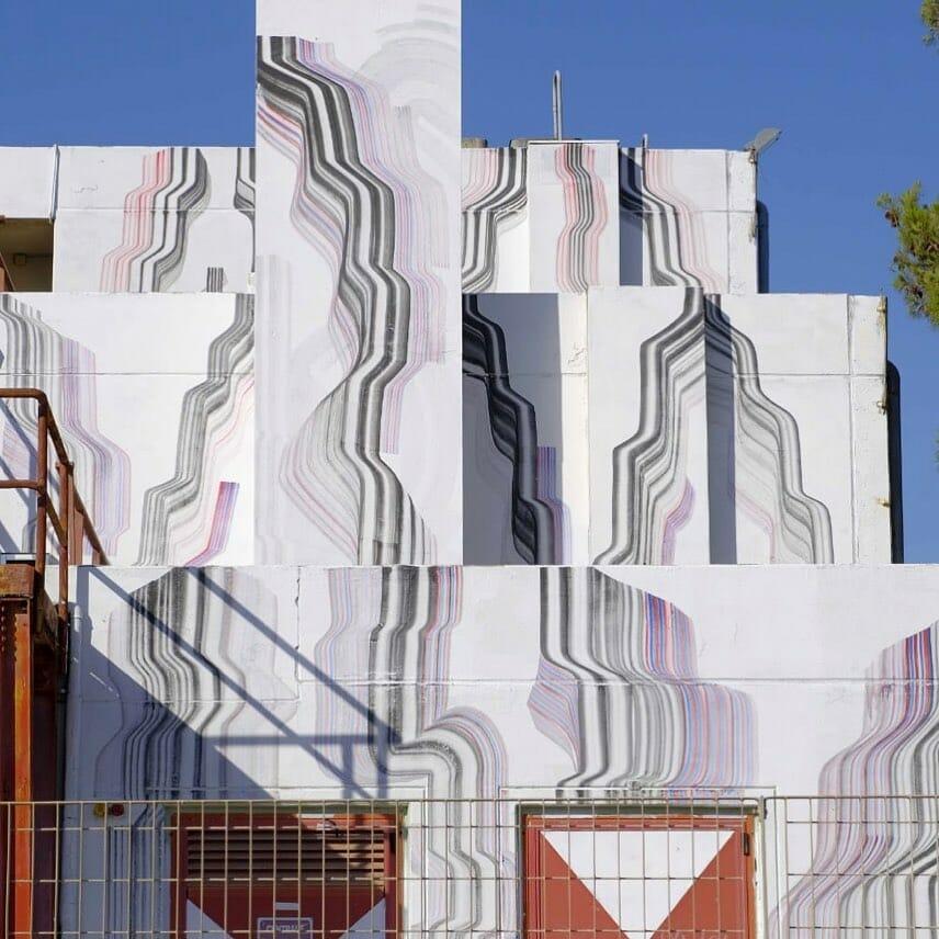 Un bâtiment entier aux couleurs de 2501
