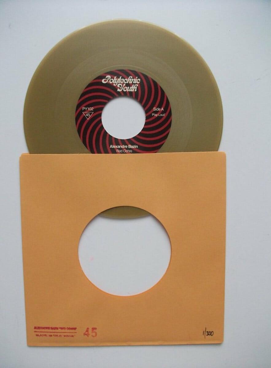 Vinyle de Red Ochre, un morceau de l'album Concorde