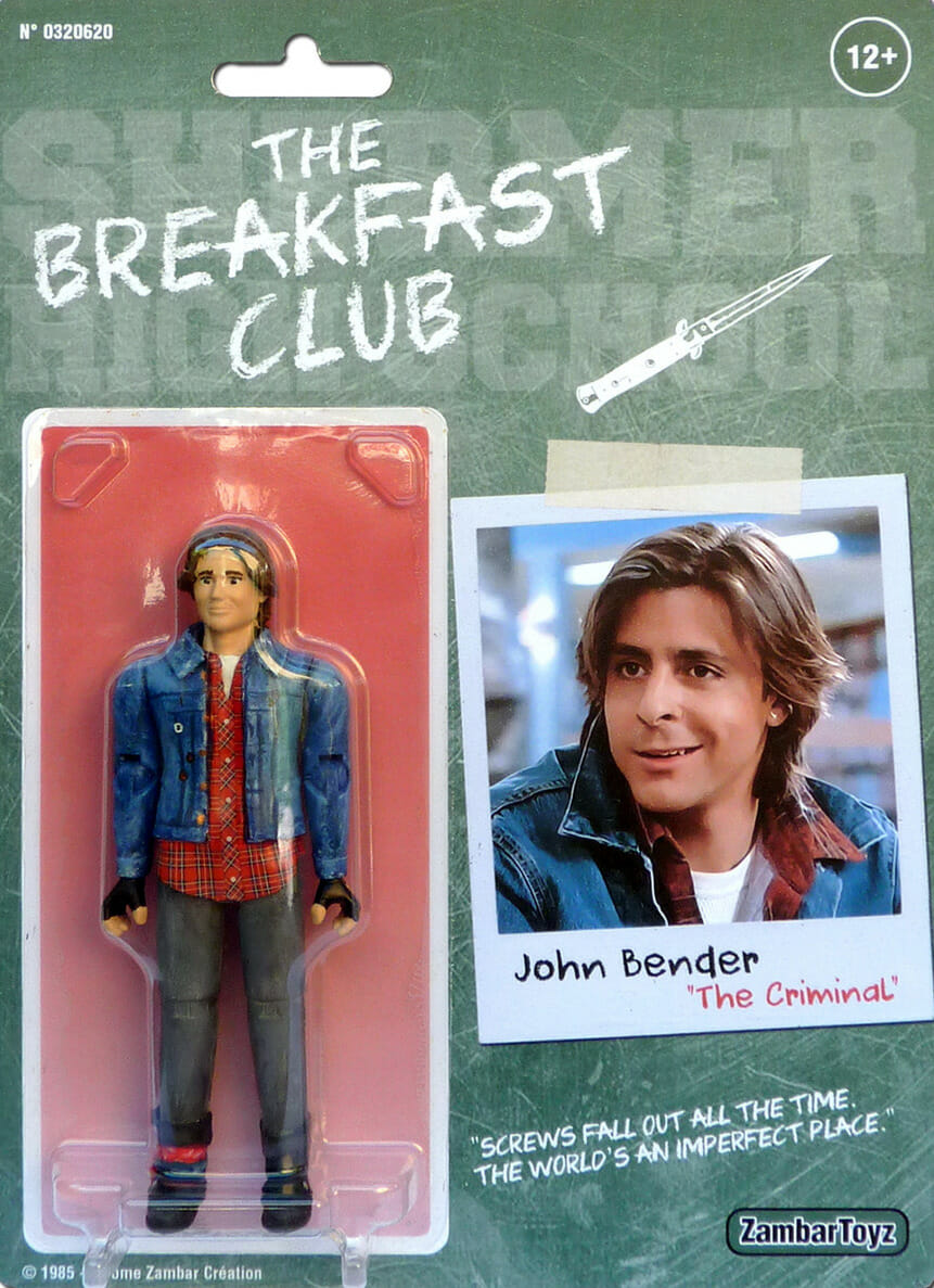 Figurine de John Bender dans The Breakfast Club