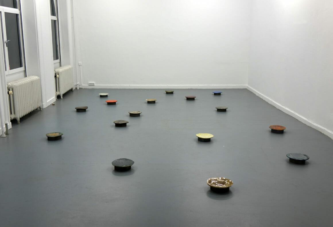 Davide Hjort ronds au sol céramique