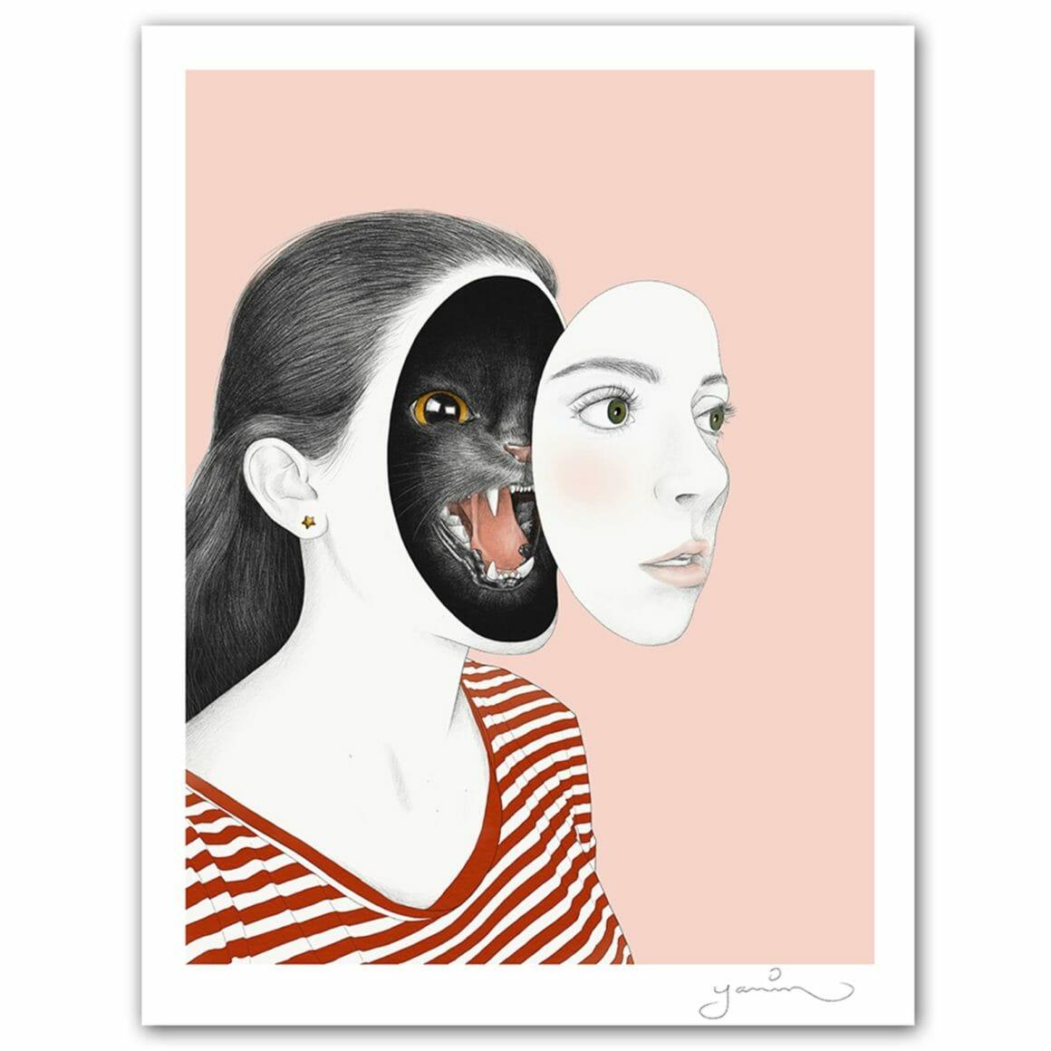Yanin Ruibal maladie chronique en illustration