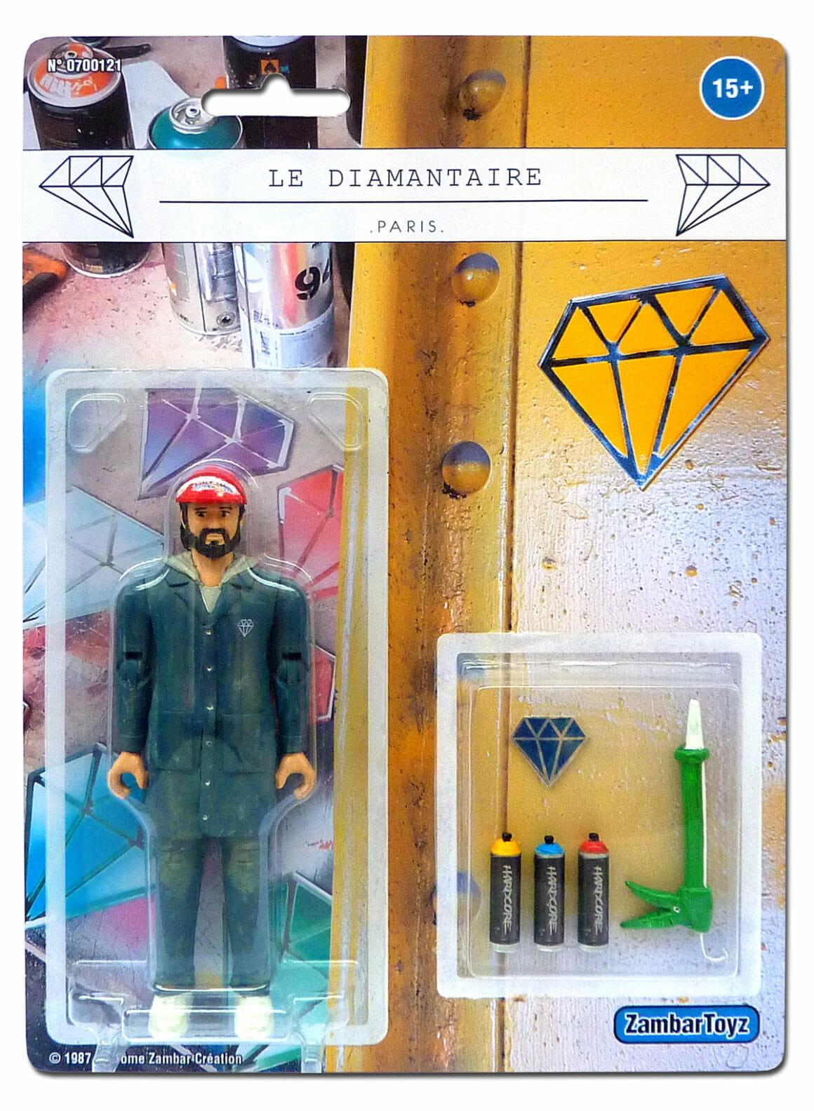 Le-diamantaire Zambar Toyz figurine
