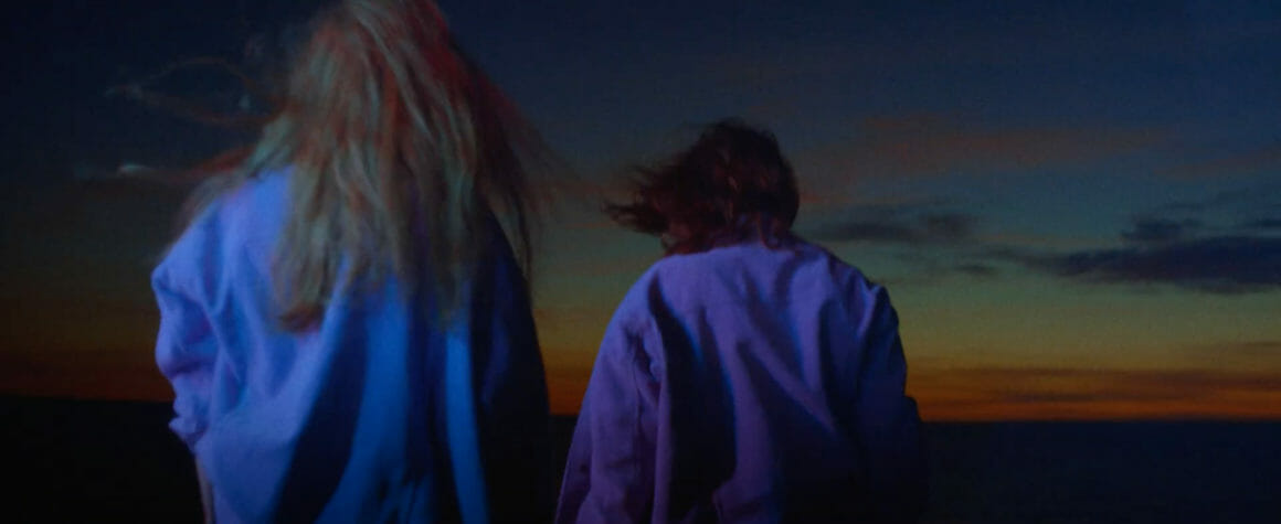 Image du clip Orage coucher de soleil