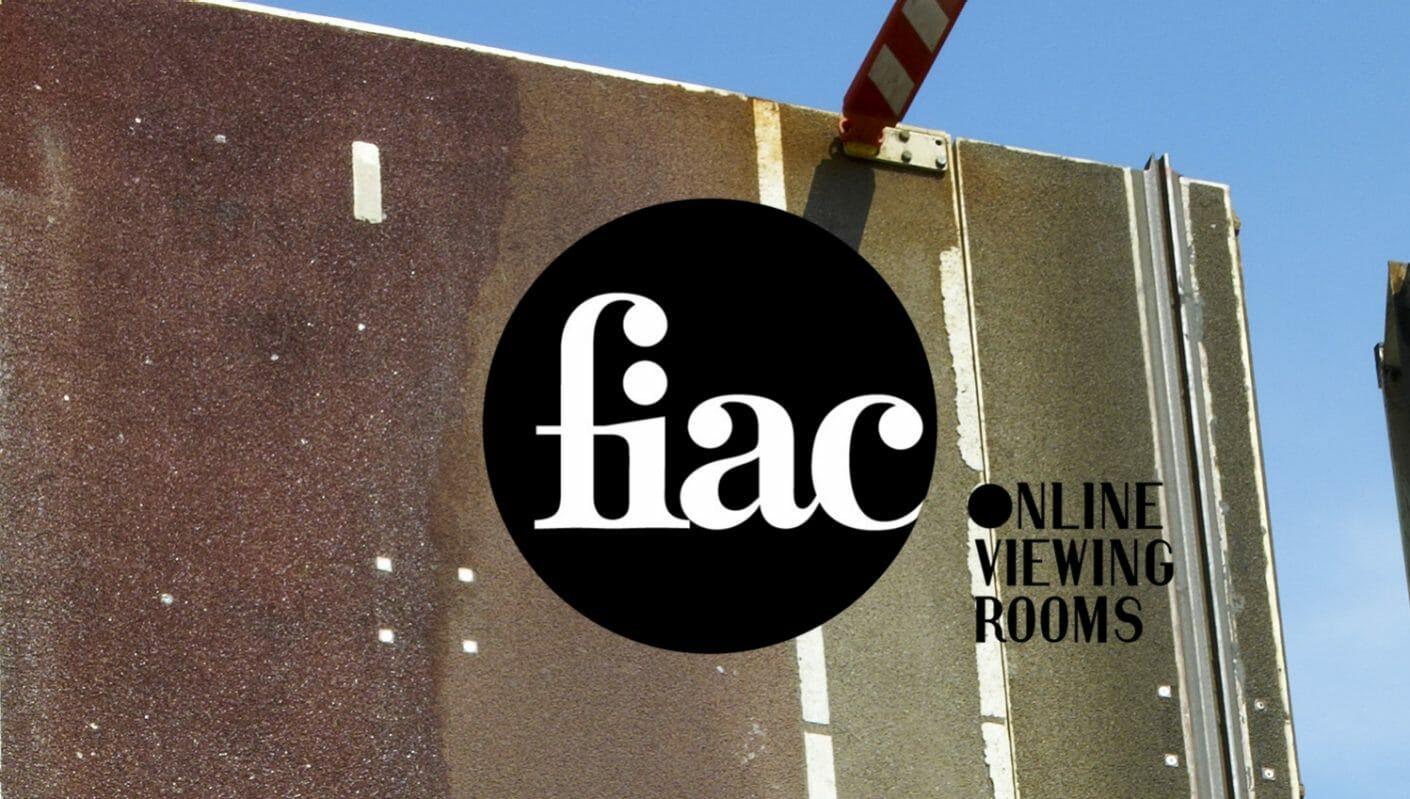 Fiac Online Viewing Rooms, lFiac 2021 en ligne