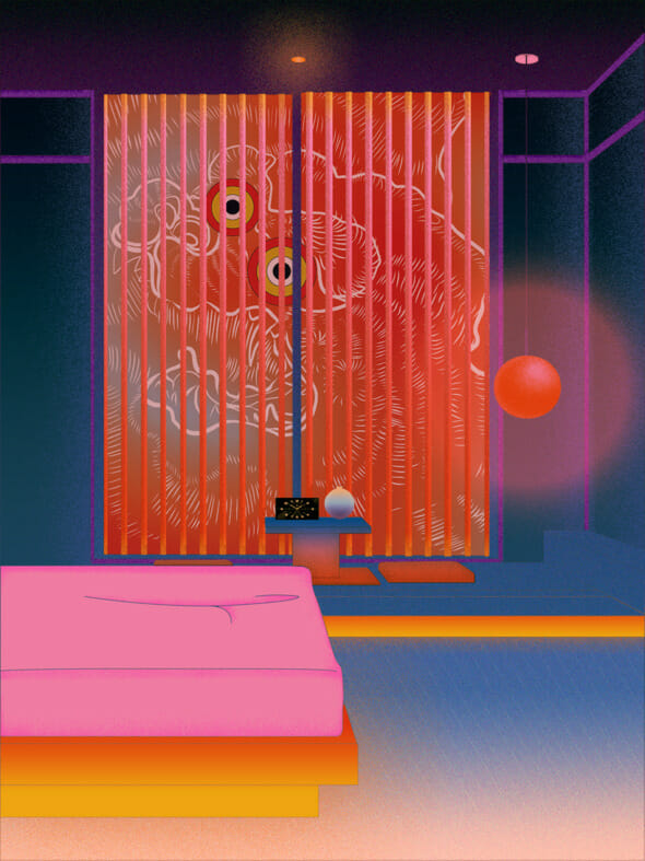 The Bedroom de la série Portals