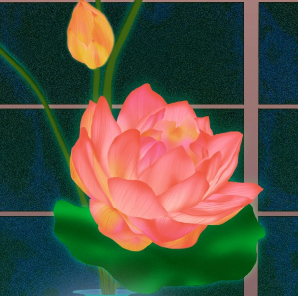 Fleurs exotiques par Spime