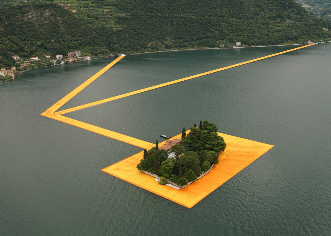 The Floating Piers, Christo et Jeanne-Claude