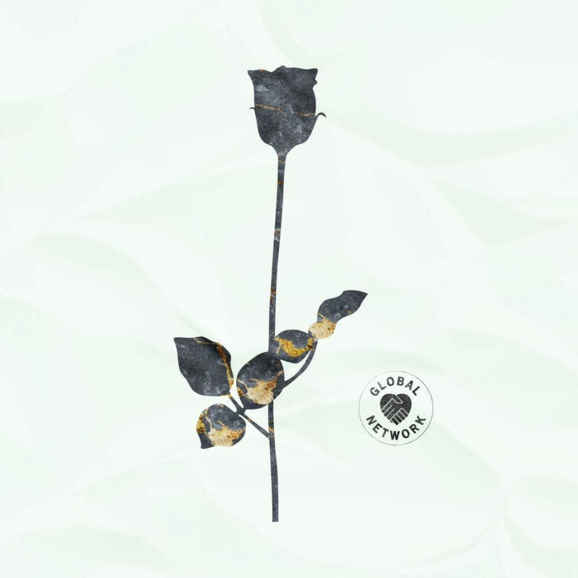 Cover officielle de Black Roses par Global Network