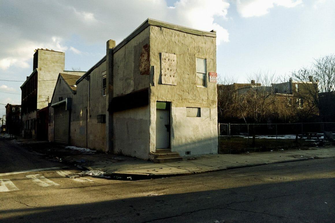 Maison abandonnée à vendre