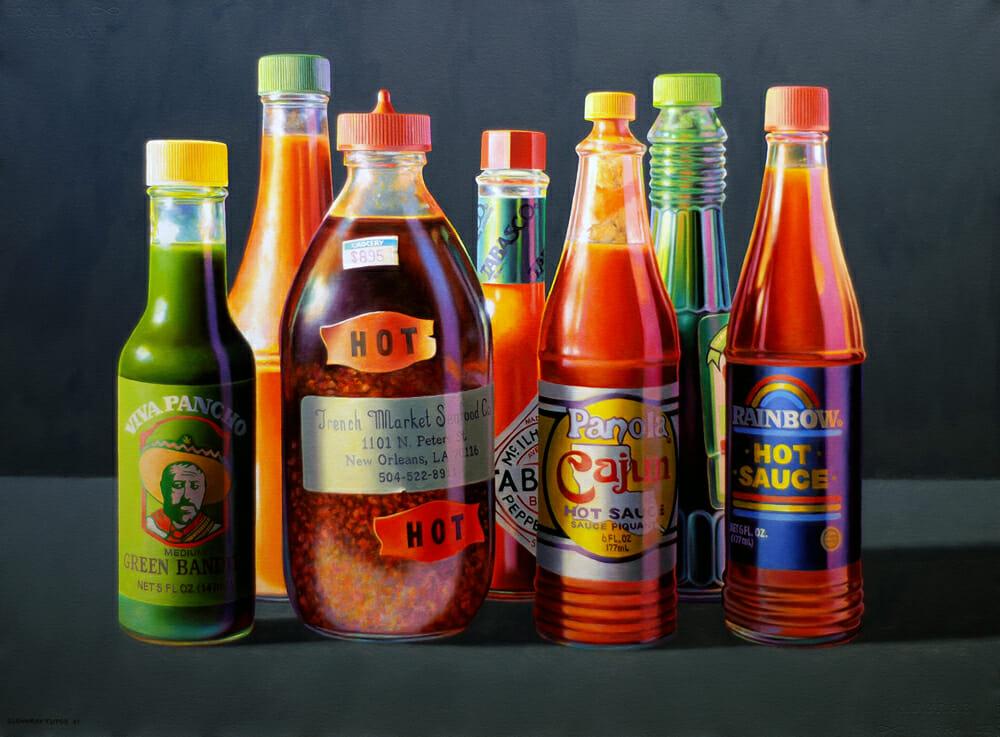 Seven Sauces - Sept sauces piquantes vintage