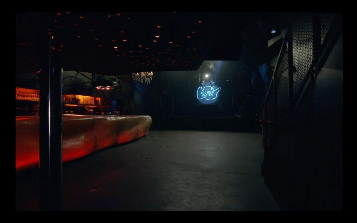 Piste de danse du Nouveau Casino vide