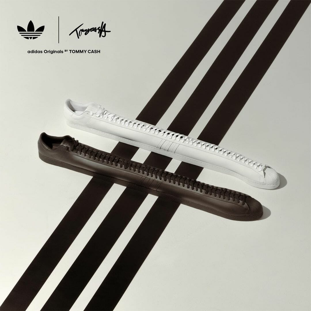 Tommy Cash adidas sneakers longues