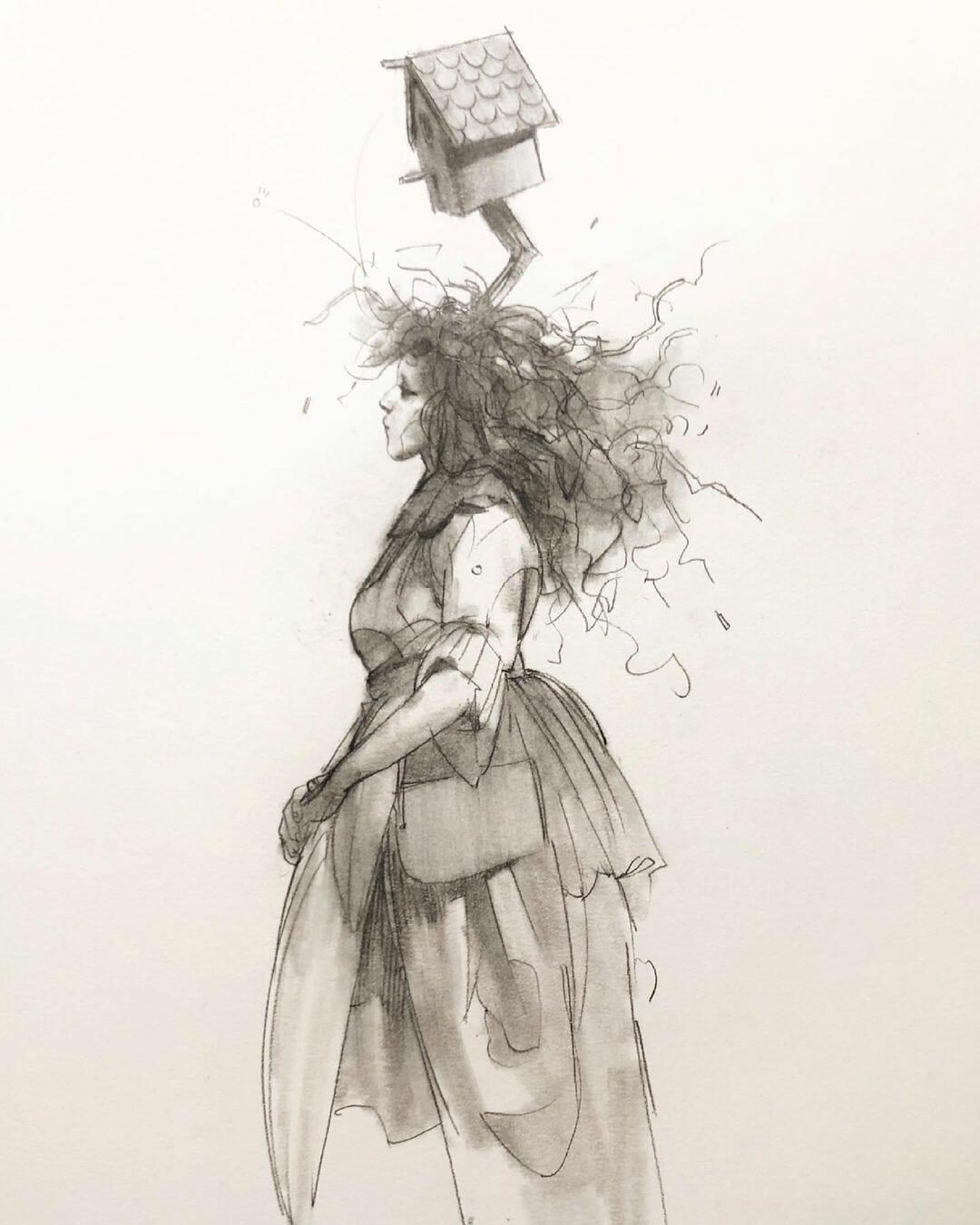 Illustration réalisée par Eliza Ivanova